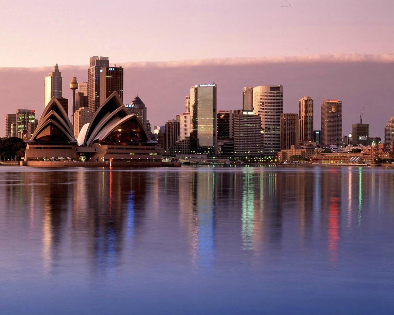 壁纸1280×1024澳大利亚特色美丽风景壁纸
