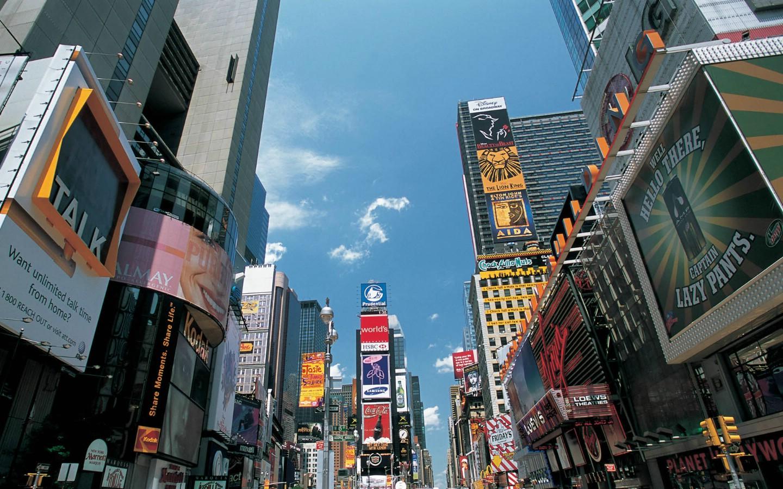 纽约建筑高清电脑桌面壁纸 高清图片