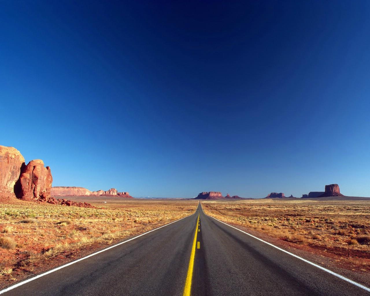 1280×1024公路风景壁纸壁纸公路 .