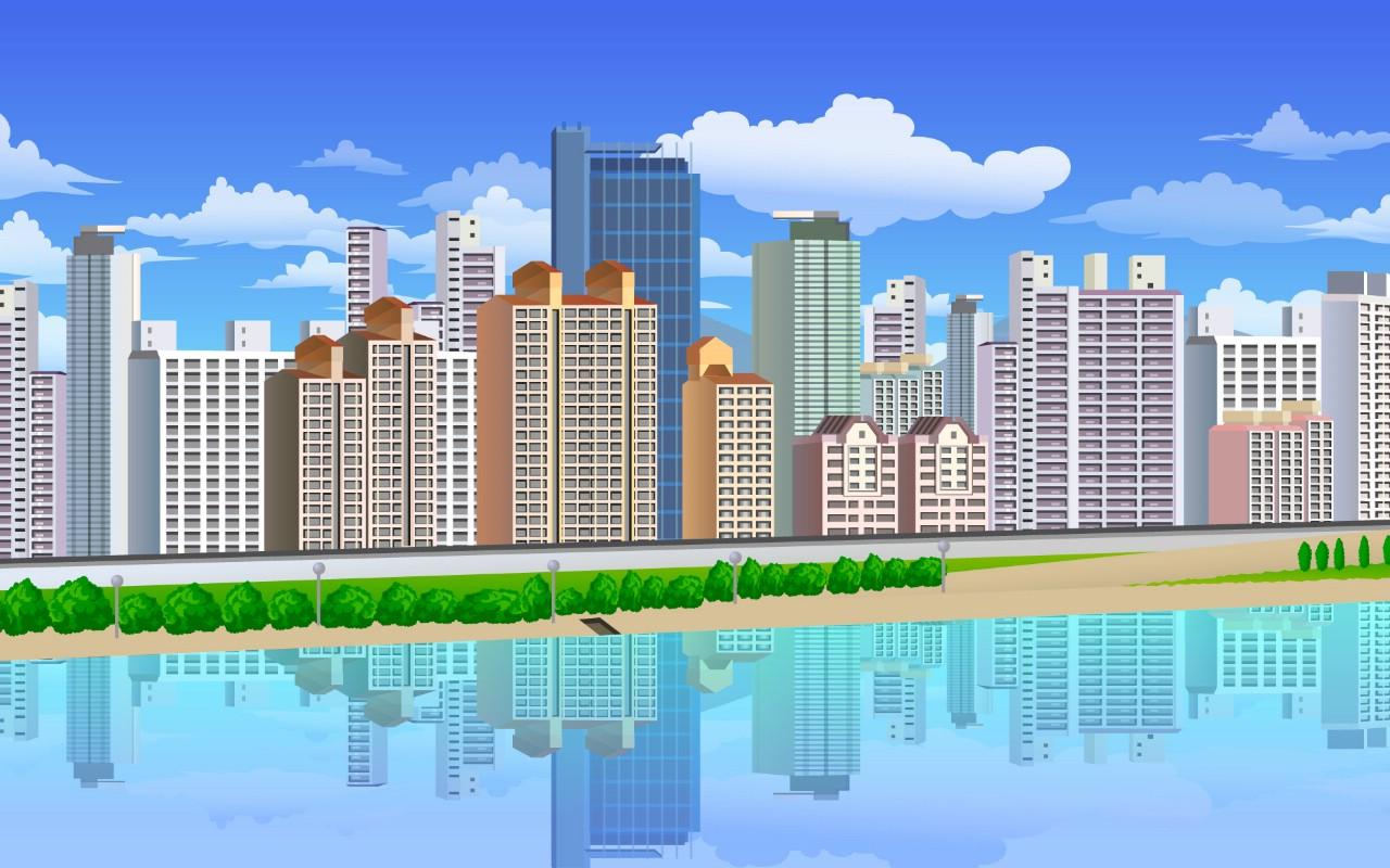 建筑 城市夜景 > 高楼大厦 第一辑 壁纸分类:风景动物花卉建筑汽车