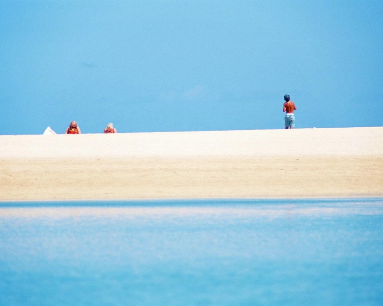 亲近大自然 阳光海滩