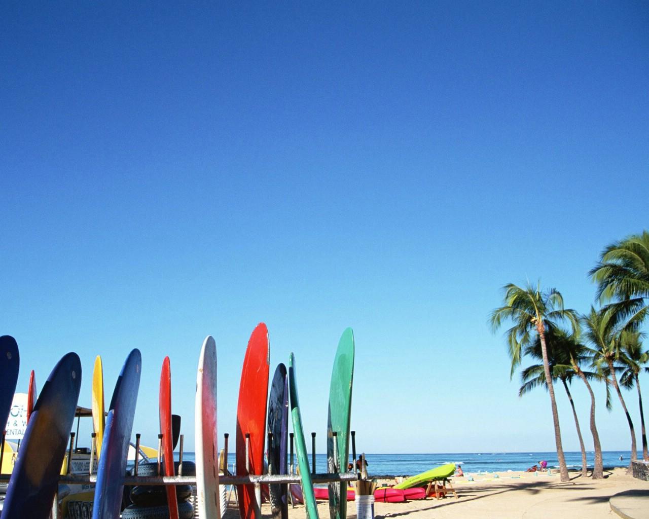 与阳光海滩壁纸图片风景壁纸风景图片素材桌面壁