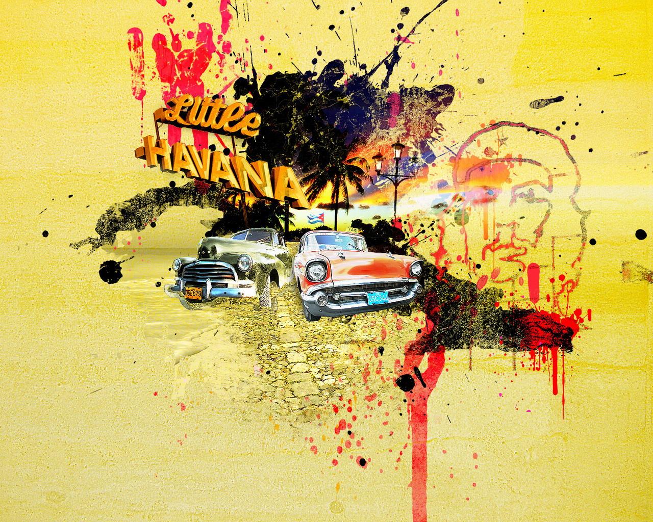 壁纸1280×1024街头涂鸦艺术风格壁纸壁纸 街头涂鸦