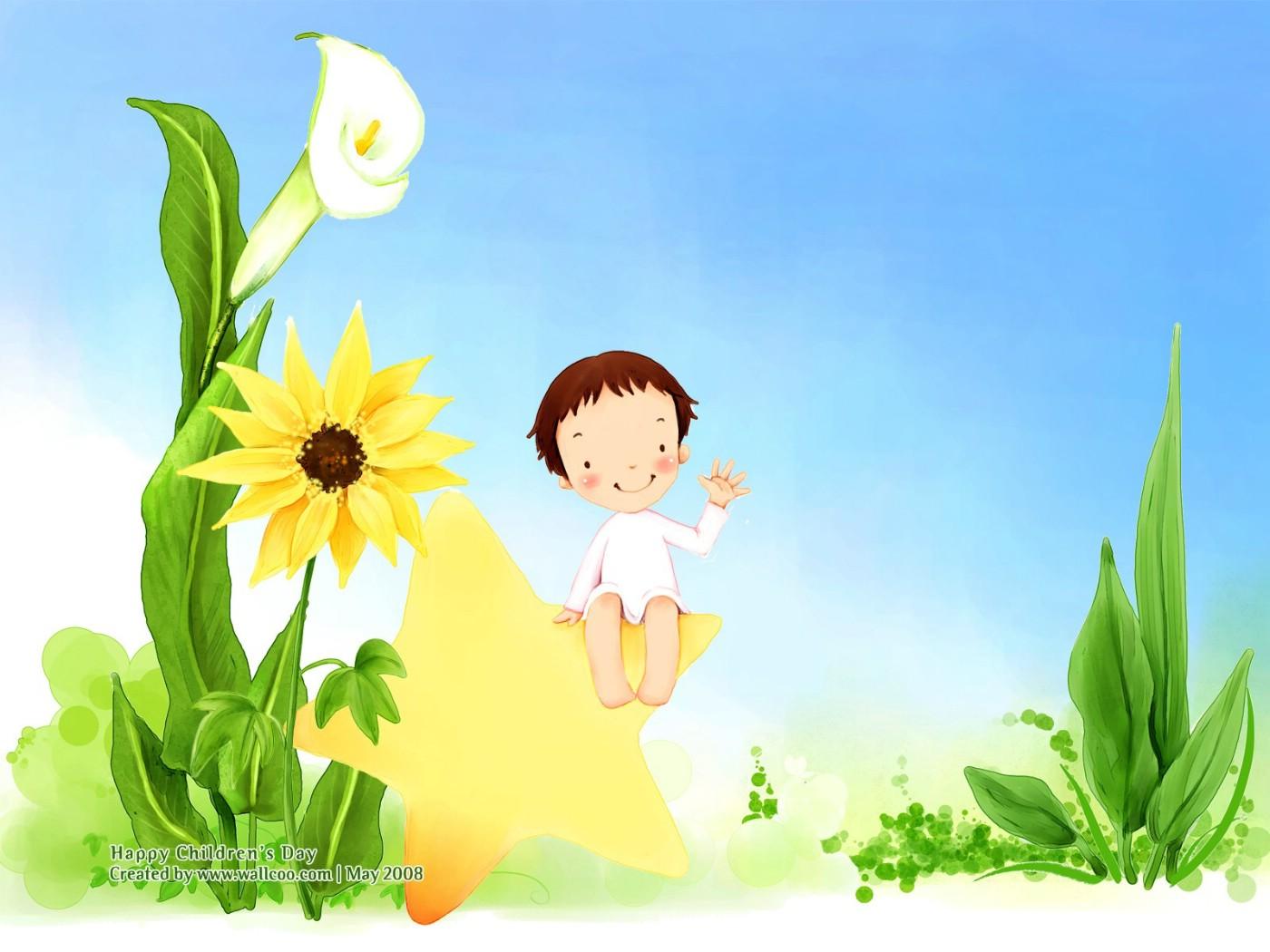 儿童 节 可爱 儿童 插画 壁纸 1600 儿童 插画 儿童