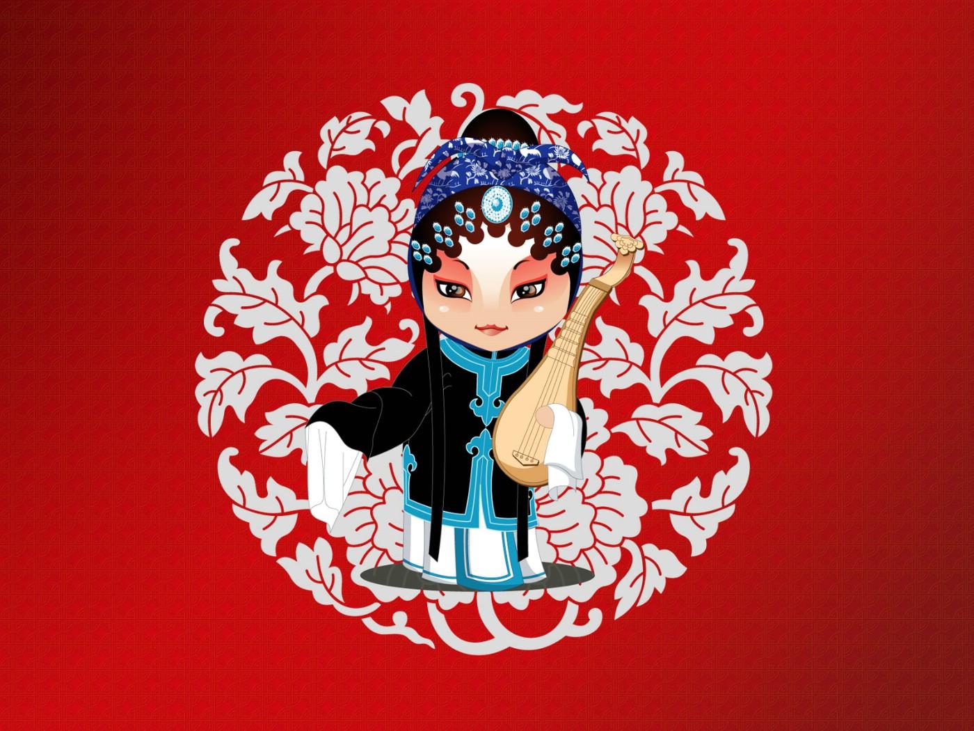 京剧人物-生