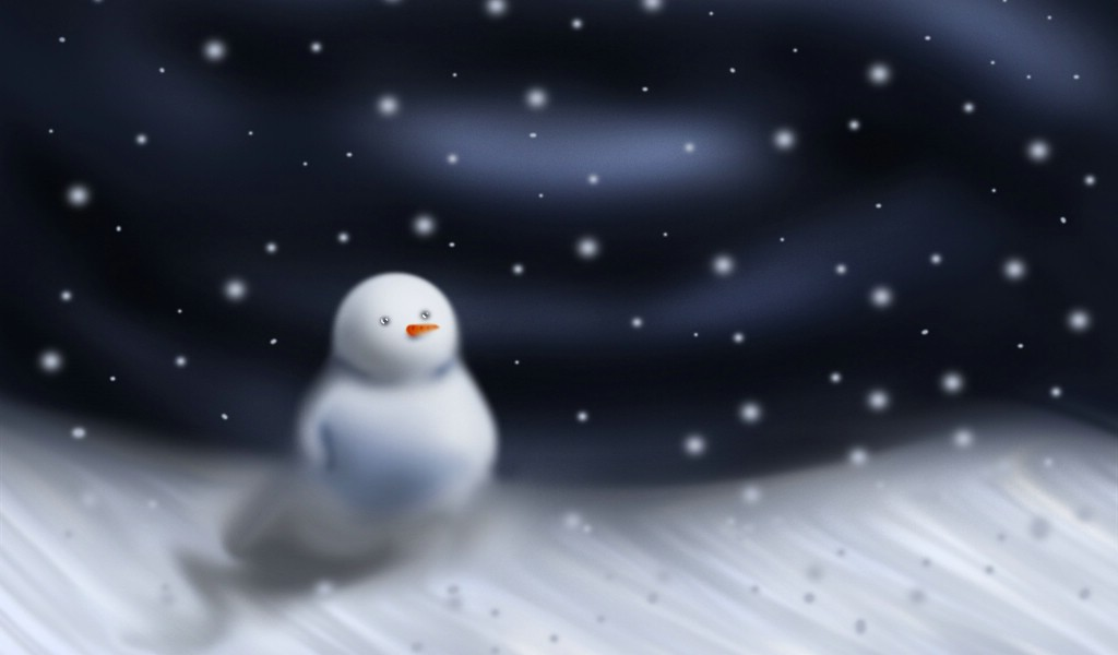 snow hd wallpaper