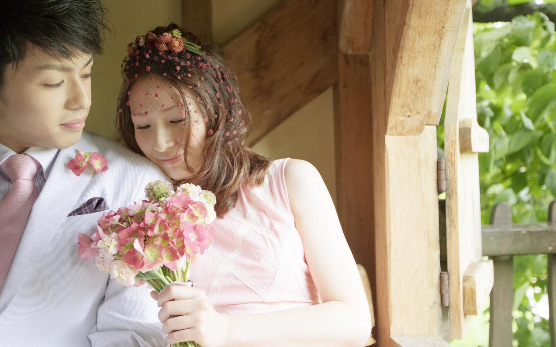 壁纸/幸福新娘壁纸...