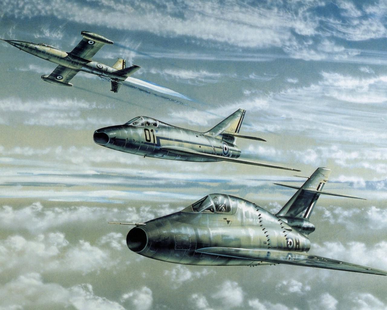 壁纸1280×1024高清晰油画式飞机壁纸壁纸 高清晰油画式飞机壁纸壁纸图片军事壁纸军事图片素材桌面壁纸