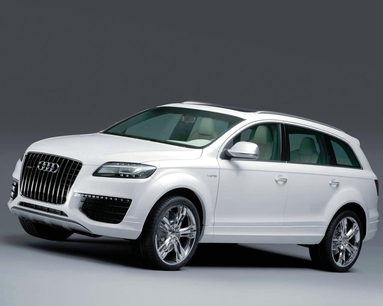 壁纸1280 215 1024audi Q7 V12 Tdi Bluetec概念车壁纸壁纸 Audi Q7 V12 Tdi