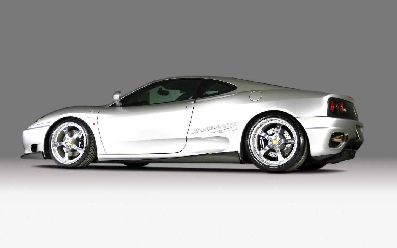 法拉利f430白色 evo与法拉力f430 法拉力f430蜘蛛多少钱啊 高清图片