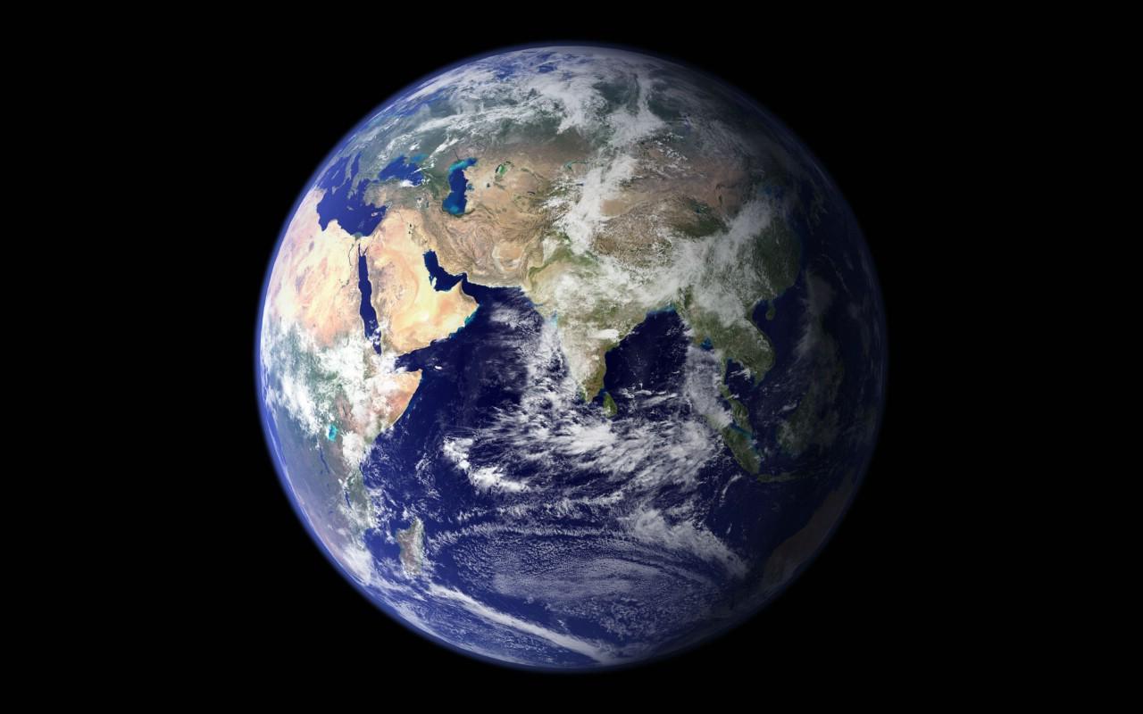 壁纸1280 800地球鸟瞰高清壁纸壁纸 地球鸟瞰高清壁纸